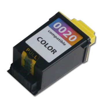 .Lexmark 15M0120 (#20) Tri-Color Remanufactured Inkjet Cartridge (275 page yield)