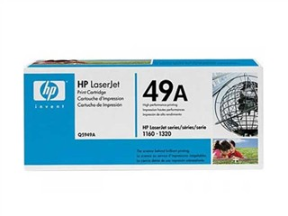 ..OEM HP Q5949A (HP 49A) Black Laser Toner Cartridge (2,500 page yield)