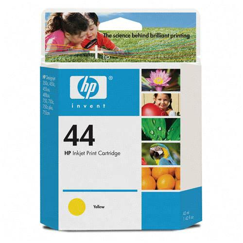 ..OEM HP 51644Y (HP 44) Yellow Print Cartridge