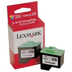 ..OEM Lexmark 10N0026 (#26) Tri-Color Inkjet Cartridge (275 page yield)