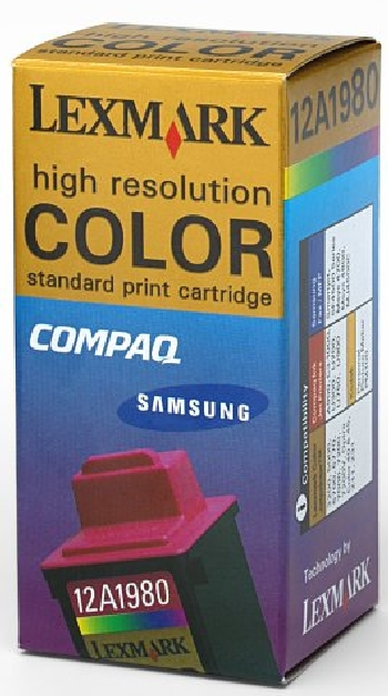..OEM Lexmark 15M1335 (#80) Tri-Color, 2 pack, Inkjet Cartridge (470 x 2 page yield)