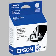 ..OEM Epson T026201 Black Ink Cartridge (370 page yield)