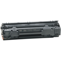 .HP CB435A (HP 35A) Black Compatible Laser Toner Cartridge (2,000 page yield)