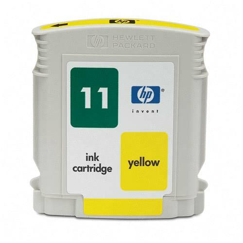 HP C4838A (HP 11) Yellow Remanufactured Inkjet Cartridge (1,750 page yield)