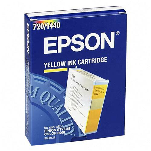 ..OEM Epson S020122 Yellow Ink Cartridge (2,100 page yield)