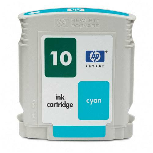 HP C4841A (HP 10) Cyan Remanufactured InkJet Cartridge (1,650 page yield)