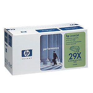 ..OEM HP C4129X (HP 29X) Black, Hi-Yield, Laser Toner Cartridge (10,000 page yield)
