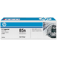 ..OEM HP CE285A (HP 85A) Black Toner Cartridge (1,600 page yield)