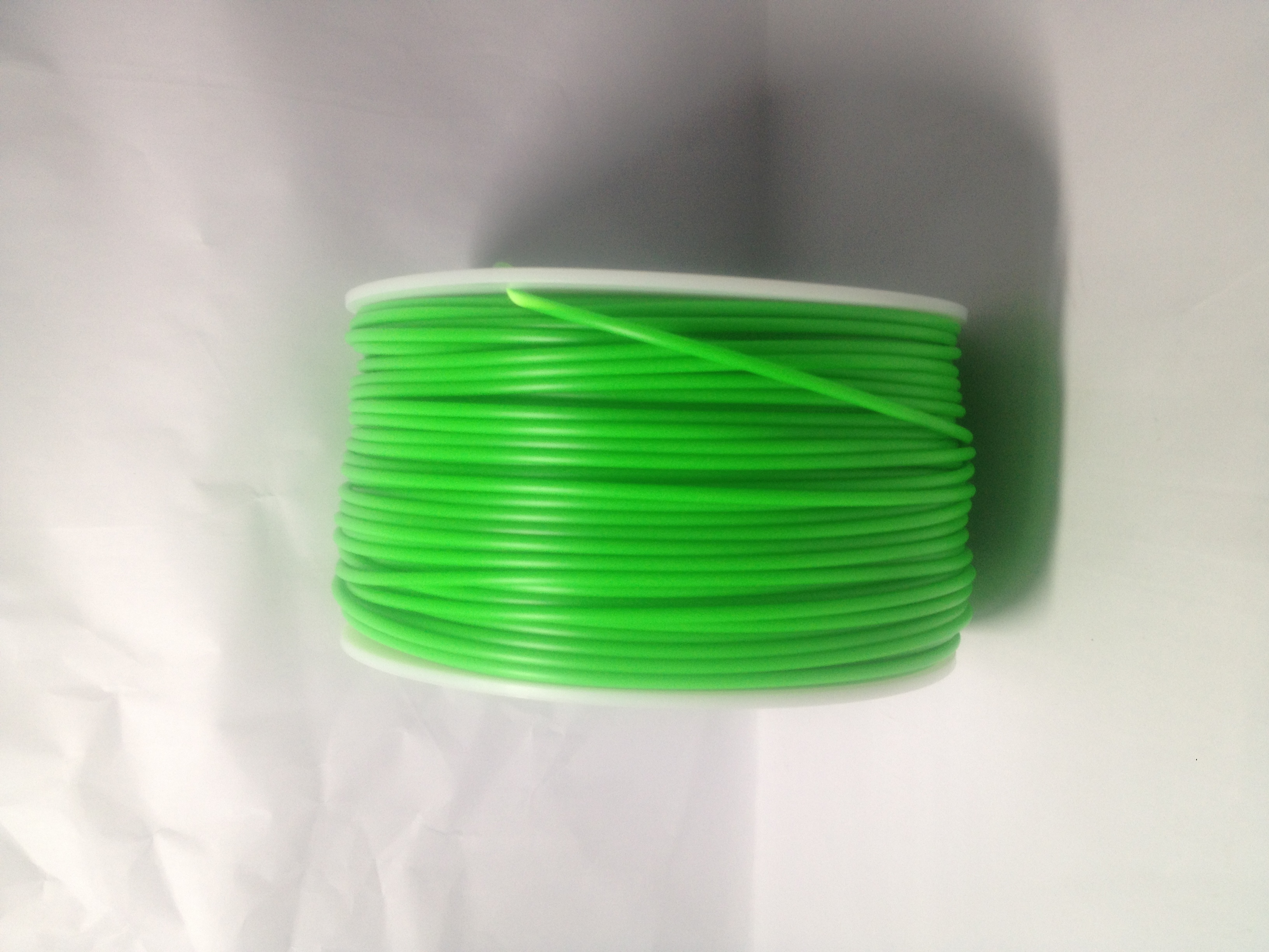 Sold Green 3D Printing 1.75mm ABS Filament Roll