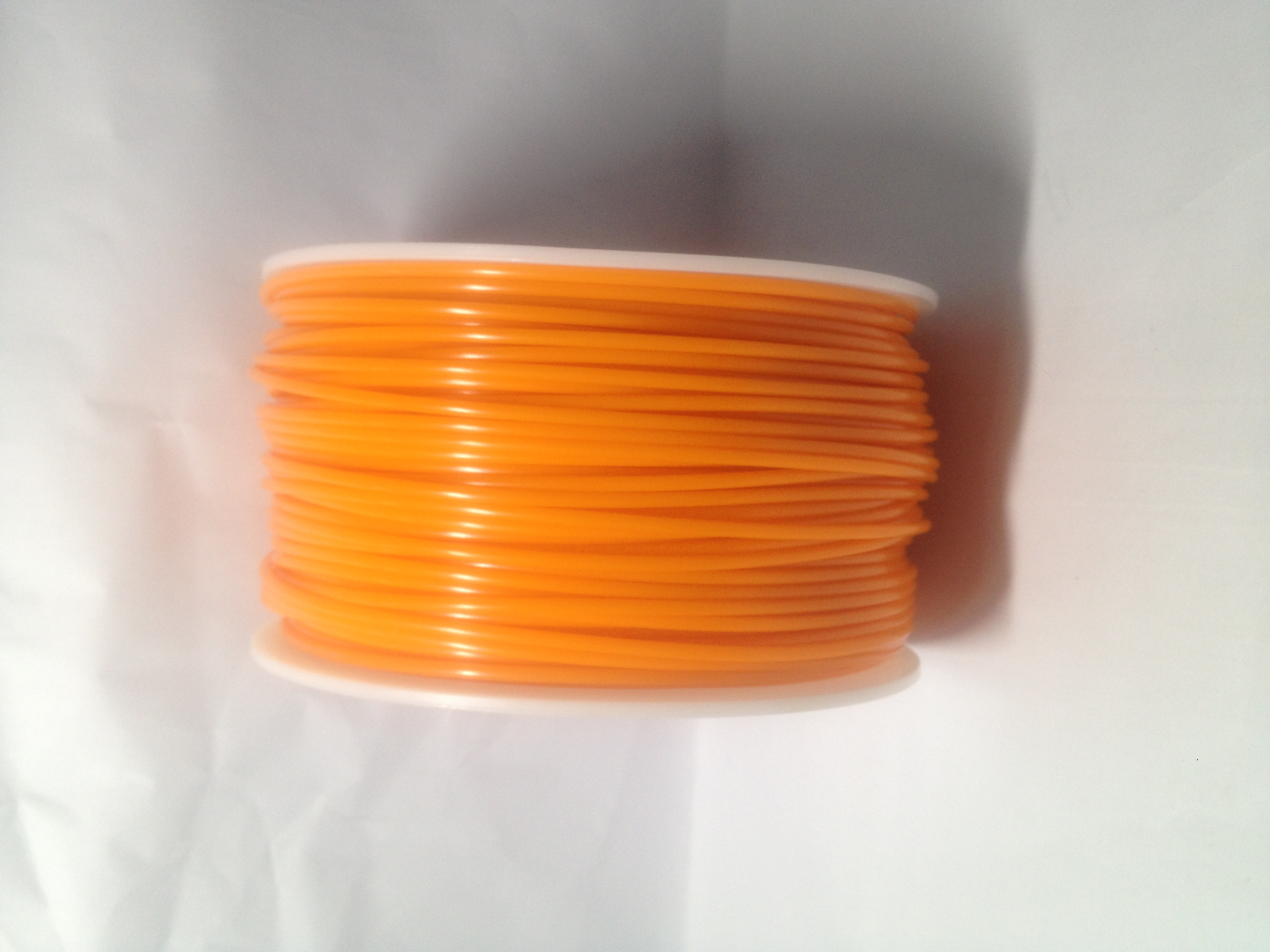 Sold Orange 3D Printing 1.75mm ABS Filament Roll