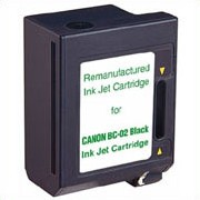 .Canon 0881A003 (BC-02) Black Remanufactured Inkjet Cartridge (500 page yield)