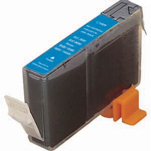 .Canon 4480A003 (BCI-3eC) Cyan Compatible Inkjet Cartridge (340 page yield)