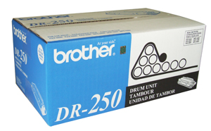 ..OEM Brother DR-250 Black Drum Unit (20,000 page yield)
