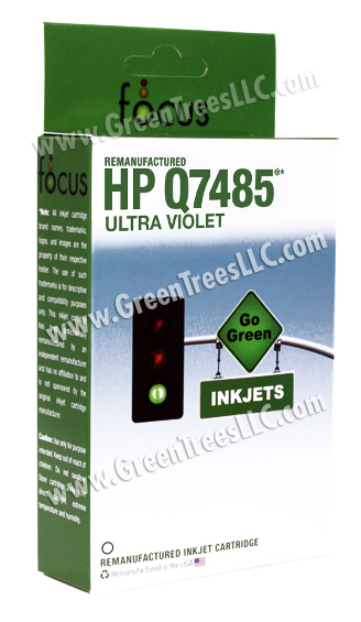 HP Q7485A UV Ink Remanufactured Inkjet Cartridge (42 ml ink)