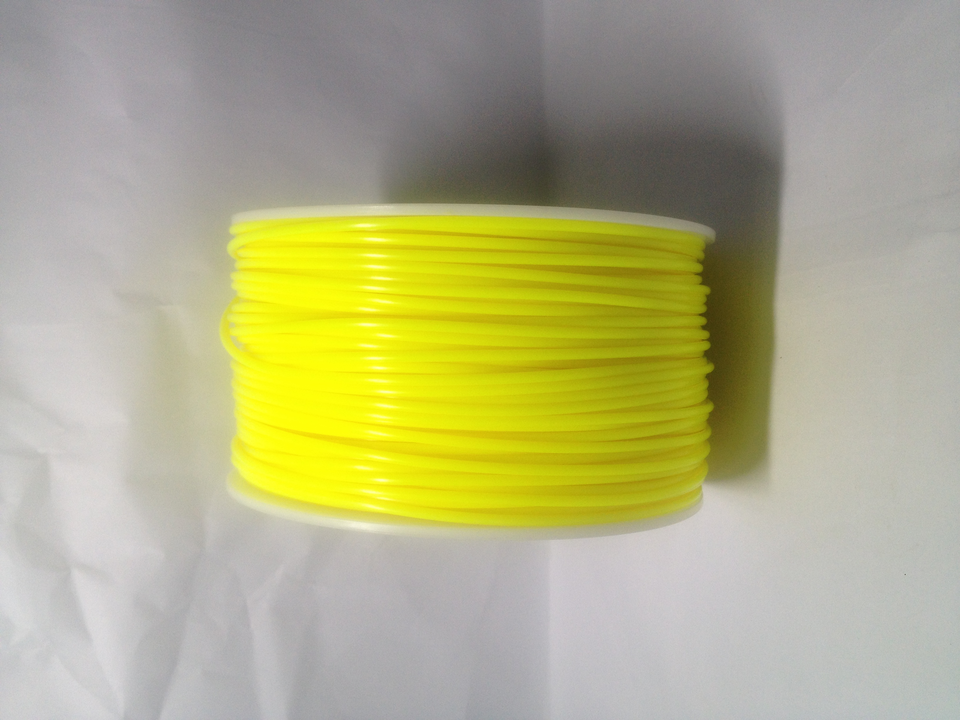 Sold Yellow 3D Printing 1.75mm ABS Filament Roll