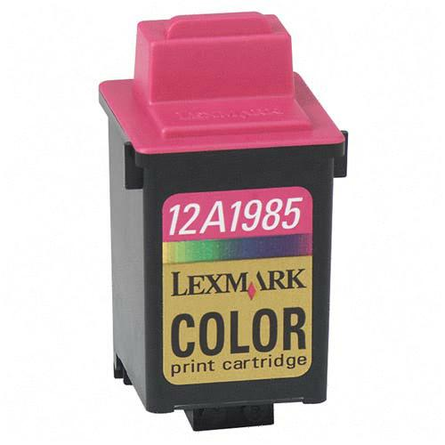 .Lexmark 12A1985 (#85) Tri-Color Remanufactured Inkjet Cartridge (470 page yield)