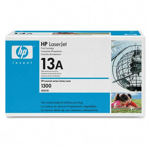 ..OEM HP Q2613A (HP 13A) Black Laser Toner Cartridge (2,500 page yield)