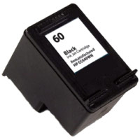 HP CC640WN (HP 60) Black Remanufactured Inkjet Cartridge (200 page yield)