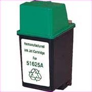 .HP 51625A (HP 25) Tri-Color Remanufactured Inkjet Cartridge (250 page yield)