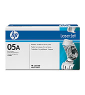 ..OEM HP CE505A (HP 05A) Black, Toner Printer Cartridge (2,300 page yield)