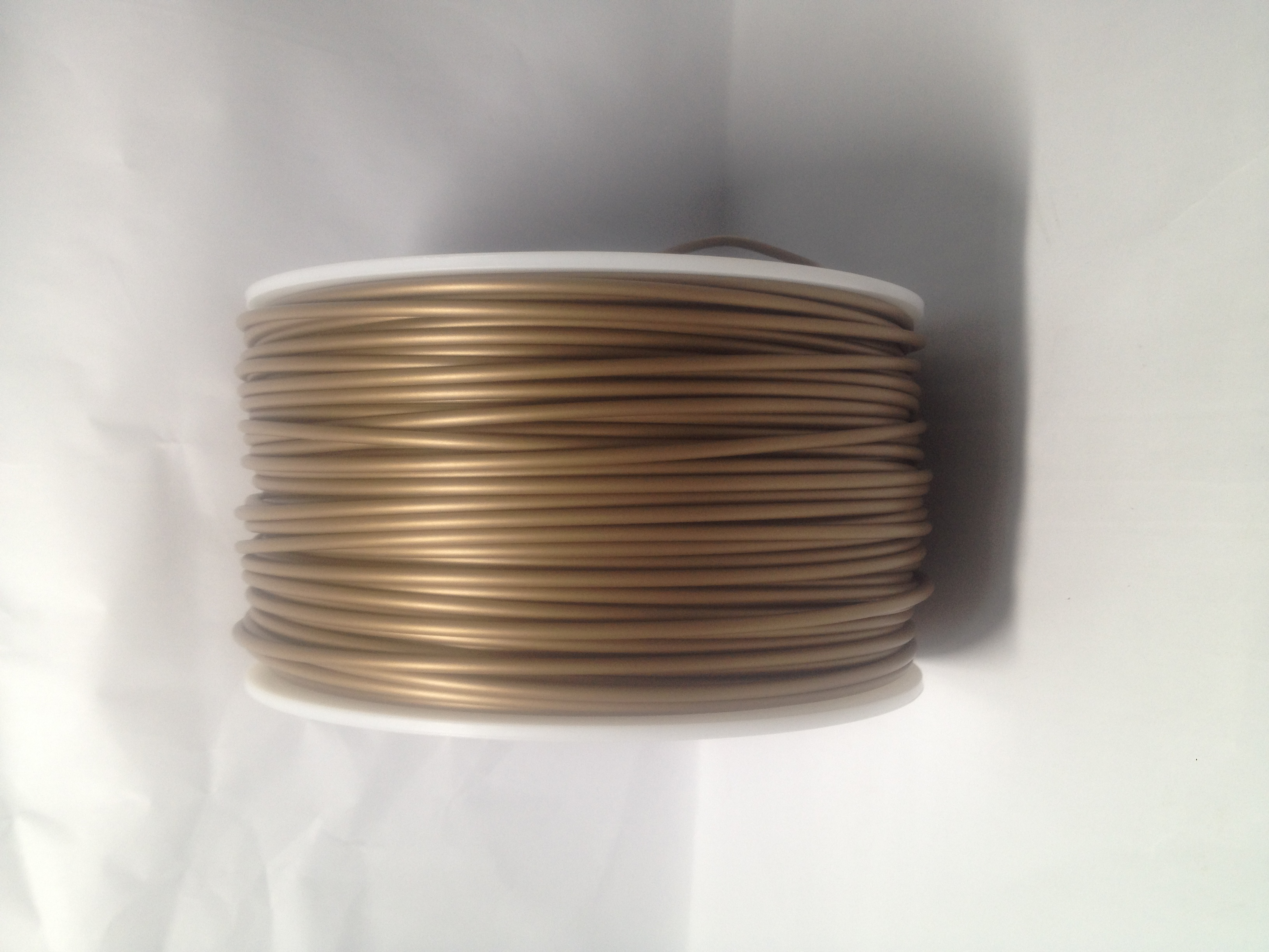 Sold Gold 3D Printing 1.75mm ABS Filament Roll