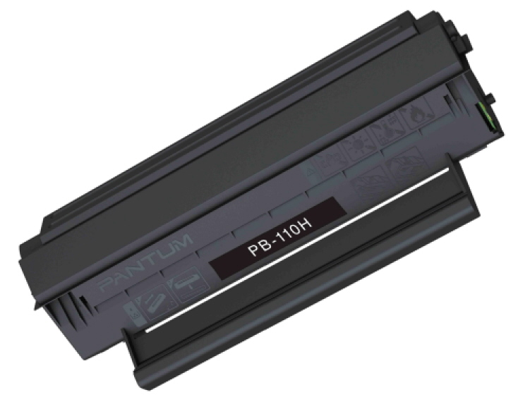 ..OEM Pantum PB-110H Black, Hi-Yield, Toner Cartridge (2,300 page yield)