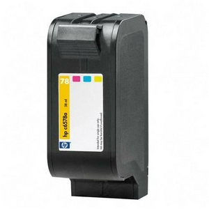 .HP C6578DN (HP 78) Tri-Color Remanufactured Inkjet Cartridge (560 page yield)