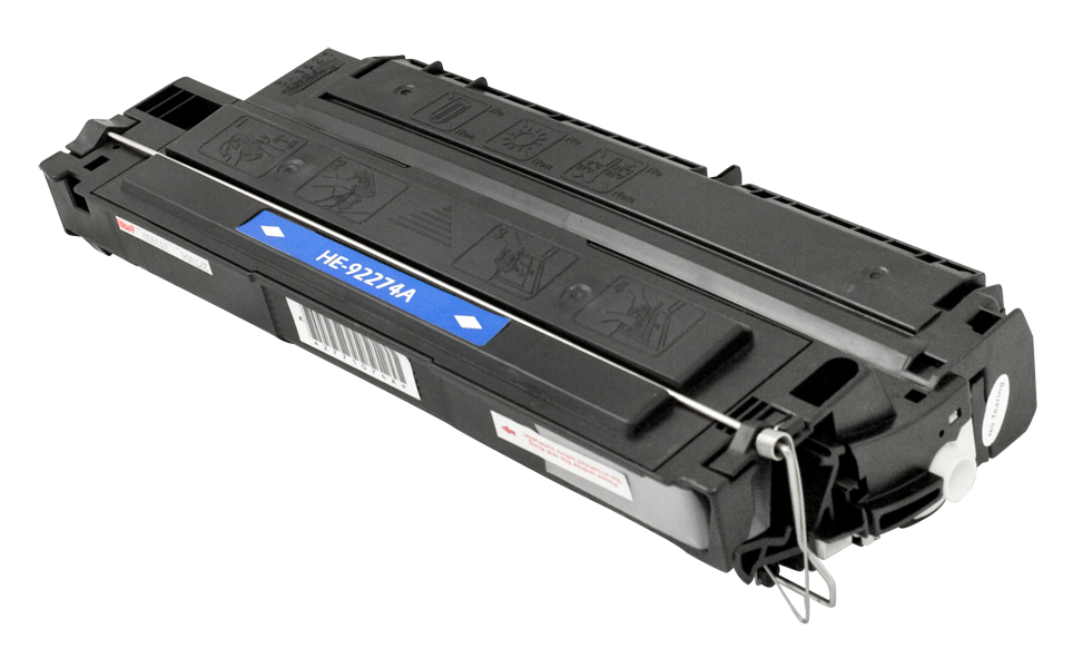 HP 92274A (HP 74A) Black Remanufactured Laser Toner Cartridge, (3,350 page yield)