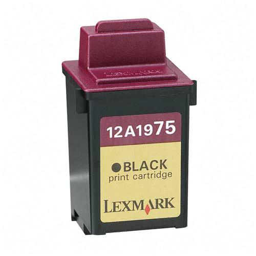 .Lexmark 12A1975 (#75) Black Remanufactured Inkjet Cartridge (600 page yield)