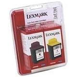 ..OEM Lexmark 15M2328 (#20/70) Black/Tri-Color, 2-pack, Inkjet Cartridges