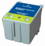 Epson S020089 / S020191 / T020201 / T014201 Tri-Color Universal Remanufactured Inkjet Cartridge