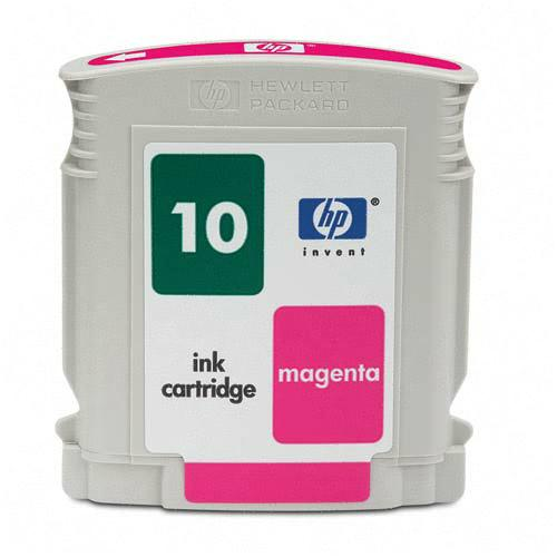 HP C4843A (HP 10) Magenta Remanufactured InkJet Cartridge (1,650 page yield)
