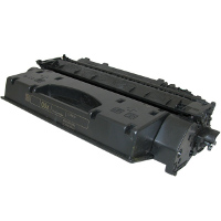 .HP CE505X (HP 05X) Black, Hi-Yield, Compatible Toner Laser Cartridge (6,500 page yield)