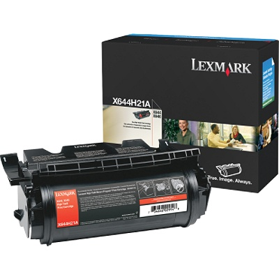 ..OEM Lexmark X644A21A Black Print Cartridge (10,000 page yield)