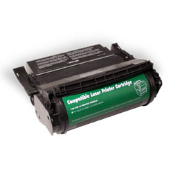 ..OEM Lexmark 12A0825 Black, Hi-Yield, Return Program, Toner Cartridge (23,000 page yield)