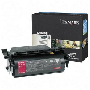 ..OEM Lexmark 12A6765 Black, Extra Hi-Yield, Print Cartridge (30,000 page yield)