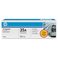 ..OEM HP CB435A (HP 35A) Black Laser Toner Cartridge (1,500 page yield)