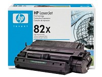 ..OEM HP C4182X (HP 82X) Black, Hi-Yield, Laser Toner Cartridge (20,000 page yield)