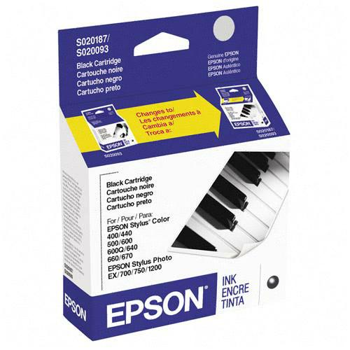 ..OEM Epson S187093 Black Ink Jet Cartridge (370 page yield)