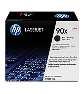 ..OEM HP CE390X (90X) Black, Hi-Yield, Toner Cartridge (25,000 page yield)