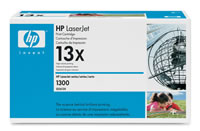 ..OEM HP Q2613X (HP 13X) Black, Hi-Yield, Laser Toner Cartridge (4,000 page yield)