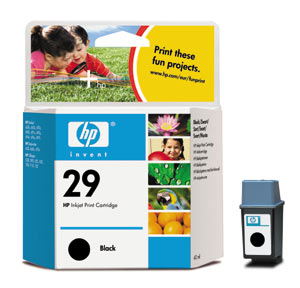 ..OEM HP 51629A (HP 29) Black, Print Cartridge, 40 ml (650 page yield)