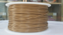 Sold Gold 3D Printing 1.75mm PLA Filament Roll