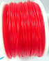 Transparent Red 3D Printing 1.75mm PLA Filament Roll
