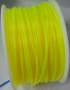 Transparent Yellow 3D Printing 1.75mm PLA Filament Roll